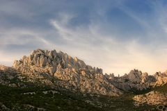 Velebit Fotografia Stock