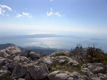 Velebit bergskedja i Kroatien Royaltyfri Fotografi
