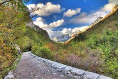 Velebit hiking Stock Image