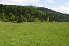 Velebitbergketen in Kroatië royalty-vrije stock fotografie