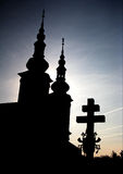 Velehrad Basilica royalty free stock images
