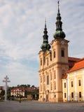 Velehrad basilica in Moravia Royalty Free Stock Image