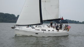 Veleiro no Chesapeake Imagens de Stock Royalty Free