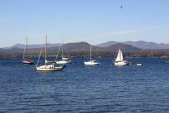 Veleiros de Vermont foto de stock royalty free