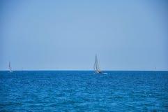 Veleiros no mar Foto de Stock