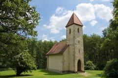 Velemér Kirche Stockbild