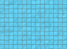 Velen blauwe vierkante keramische tegel met rond gemaakte hoeken vector illustratie