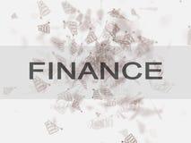 Velen brengen op een witte achtergrond in kaart zaken, financiën, investering, besparing en contant geldconcept vector illustratie