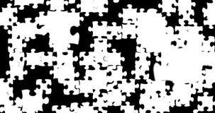Velen brengen stukken met kleurenwit die neer op zwarte het schermachtergrond vallen in verwarring, abstracte motieachtergrond, l vector illustratie