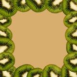 Velen de abstracte achtergrond van de Kiwienillustratie vector illustratie