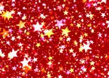 Velen gloeien glanzende sterrenachtergrond vector illustratie