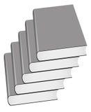 Velen grijs boek stock illustratie