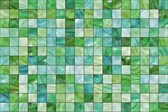 Velen klein kleuren vierkant mozaïek. patroontextuur. abstract beeld vector illustratie