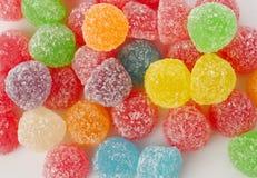 Velen kleurrijk kleverig suikergoed Stock Afbeeldingen