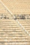Velen plaatsen bij Caesarea Maritima Roman Theater Stock Afbeeldingen