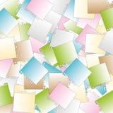 Velen stapelen document stock illustratie