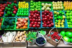 Velen type van fruit stock afbeelding