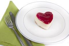Velentine's cake Stock Photo