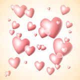 Velentines hearts Royalty Free Stock Photo