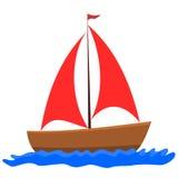 Velero - ejemplo Imagen de archivo libre de regalías