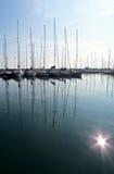 Veleros en el puerto Imagen de archivo