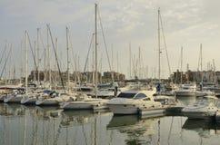 Veleros en Sherry Port foto de archivo libre de regalías