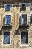 Velers house in the old town of Barcelona Stock Images