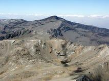 Veleta Peak - view from Mulhacen Stock Image