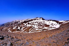 Veleta - Sierra Nevada fotografía de archivo libre de regalías