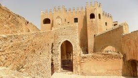 Velez布兰科阿尔梅里雅西班牙城堡  图库摄影