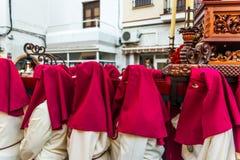 VELEZ-MALAGA, ESPAÑA - 24 de marzo de 2018 gente que participa en Fotografía de archivo