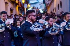 VELEZ-MALAGA, ESPAGNE - 24 mars 2018 les gens participant au Image libre de droits