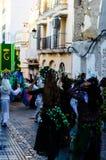 VELEZ-MALAGA, ESPANHA - 5 de janeiro de 2018 parada por ocasião de Fotos de Stock