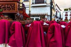 VELEZ-MALAGA, ESPANHA - 24 de março de 2018 pessoa que participa no Foto de Stock