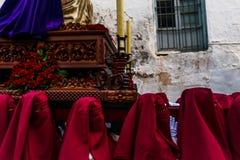 VELEZ-MALAGA, ESPANHA - 24 de março de 2018 pessoa que participa no Fotos de Stock Royalty Free