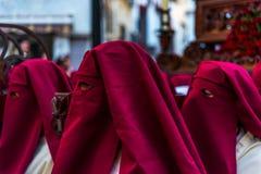 VELEZ-MALAGA, SPAGNA - 24 marzo 2018 la gente che partecipa al Fotografie Stock Libere da Diritti