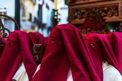 Velez-MALAGA, SPANJE - MAART die 24, 2018 Mensen aan deelnemen Stock Afbeelding