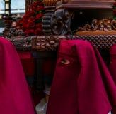 Velez-MALAGA, SPANJE - MAART die 24, 2018 Mensen aan deelnemen Royalty-vrije Stock Foto's