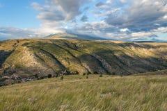 Velez Mountain Stock Image