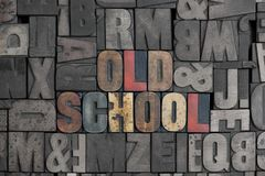Velha escola Imagens de Stock