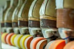 Velha escola Rollerskates Fotografia de Stock Royalty Free