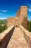 Velhartice城堡 库存图片