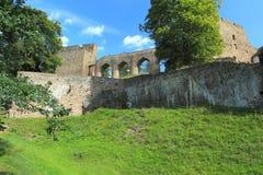 Velhartice slott Arkivbild