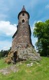 Velhartice - torre do castelo Fotos de Stock Royalty Free