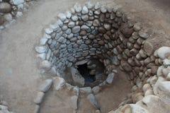 Velho bem da cultura de Nazca imagens de stock