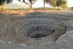 Velho bem da cultura de Nazca imagem de stock