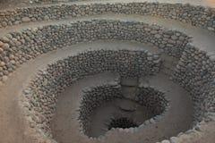 Velho bem da cultura de Nazca fotos de stock royalty free