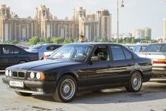 Velho-carro BMW 5 séries e34 Imagem de Stock
