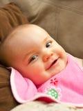 Velho de seis meses feliz Fotos de Stock Royalty Free