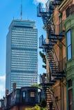 Velho e novo em Boston (vertical) Imagem de Stock Royalty Free